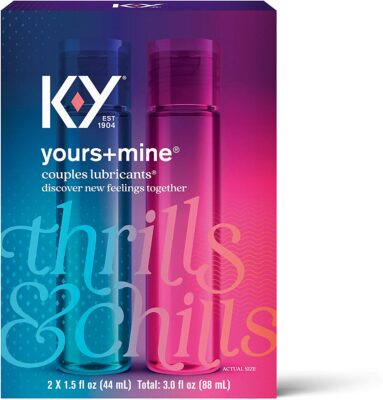 K-Y Yours Lubricant for Couple
